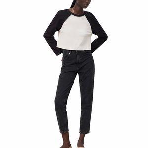 ZARA Classic Mom Fit Jeans 4 NWT